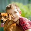 The dog is my best friend — Stock Photo #58933069