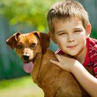 The dog is my best friend — Stock Photo #58933159