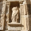 Statue from Library of Celsus — Stock Photo #52621691