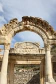 Hadrianus temple Ephesus, Izmir, Turkey — Stock Photo