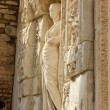 Statue from Library of Celsus — Stock Photo #52788905