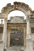 Hadrianus temple — Stock Photo