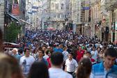 Taksim istiklal sokak — Stok fotoğraf