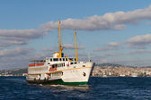 A ferry from Bosphorus, Istanbul — Foto Stock