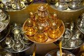 Copper Tea Set — Stock Photo