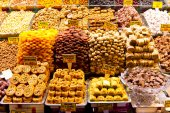 Mix Fruits from Spice Bazaar, Istanbul — Stock Photo