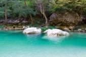Ilica Waterfall Pond, Pinarbasi, Kastamonu, Turkey — Foto de Stock