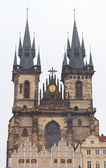 Church of Our Lady before Tyn, Prague, Czech Republic — Stock Photo