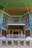 A balcony from Topkapi Palace — Foto Stock