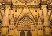 St. vitus cathedral, praga, republika czeska — Zdjęcie stockowe