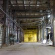 Inside of an Old Abandoned Factory — Stock Photo #53668355