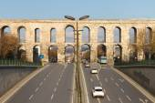 Valens Aqueduct from Istanbul, Turkey — Stock Photo