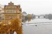 Vltava River, Prague, Czech Republic — Stock Photo