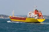 Navio de carga — Fotografia Stock
