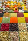 Spices and Teas from Spice Bazzar, Istanbul — Stock Photo