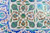 Handmade Blue Tiles from Topkapi Palace — 图库照片