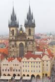 Kościół matki boskiej przed tynem, praga, republika czeska — Zdjęcie stockowe
