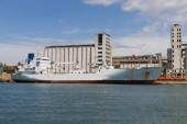 Statek towarowy — Zdjęcie stockowe