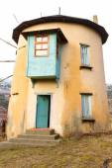 Windmill from Cubuk Lake, Turkey — Zdjęcie stockowe
