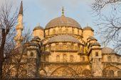 Eminonu New Mosque from Istanbul, Turkey — Zdjęcie stockowe