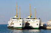 Ferry Boats — Stock Photo