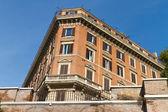 Stary budynek z Rzymu, Włochy — Zdjęcie stockowe