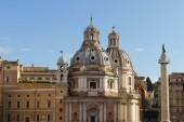 Santa Maria di Loreto, Rome, Italy — Stock Photo
