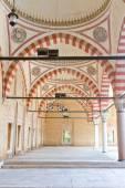 Courtyard of Selimiye Mosque, Edirne, Turkey — Stock Photo