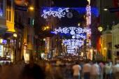 Istiklal Street, Taksim — Stock Photo