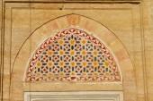 Window Decoration of Selimiye Mosque, Edirne, Turkey — Stock Photo