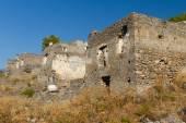 Ruins of Kayakoy, Fethiye — Stock Photo