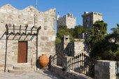 Bodrum Castle from Mugla, Turkey — Stock Photo