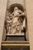 Aziz Teresa İsa, St. Peter's Basilica, Vatikan şehir devleti — Stok fotoğraf