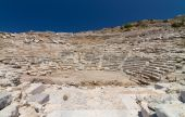 Amphitheatre of Knidos, Datca, Turkey — Stock Photo