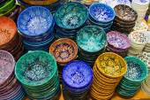 Turkish ceramics — Stock Photo