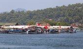 Boat tours in Dalyan — Stock Photo