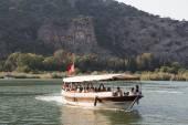 Boat tour in Dalyan — Stock Photo