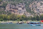 Boat tours in Dalyan — 图库照片