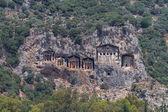 Kaunian rock tombs — Stock Photo