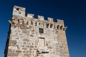 Tower of Bodrum Castle in Aegean Turkey — ストック写真