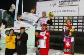FIS Snowboard Big Air World Cup — Stockfoto