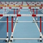 Athletics record attempt races — Stock Photo #61640573