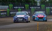 Campionato del mondo Fia Rallycross — Foto Stock