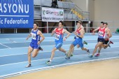 Balkan Athletics Indoor Championships — Stock Photo