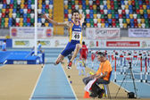 Balkan Athletics Indoor Championships — Stock Photo