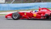 Ferrari Racing Days — Stockfoto