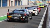 Ferrari Racing Days — Zdjęcie stockowe