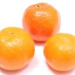 Fresh and orange mandarins on white background — Stock Photo #61421755