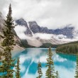 Moraine Lake and Valley of the Ten Peaks in Banff National Park — Stock Photo #52496995