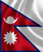 Flag of Nepal — Stock Photo